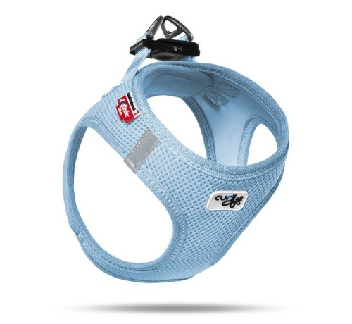 Curli Hondentuig Air-Mesh Harness Light Blue
