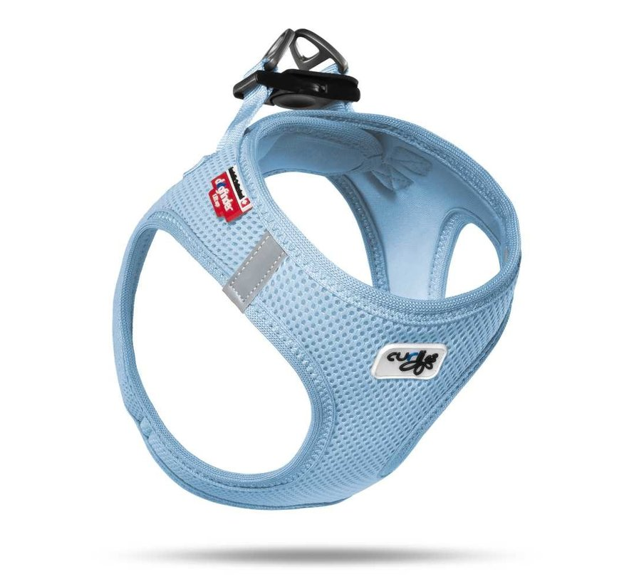 Hondentuig Air-Mesh Harness Light Blue