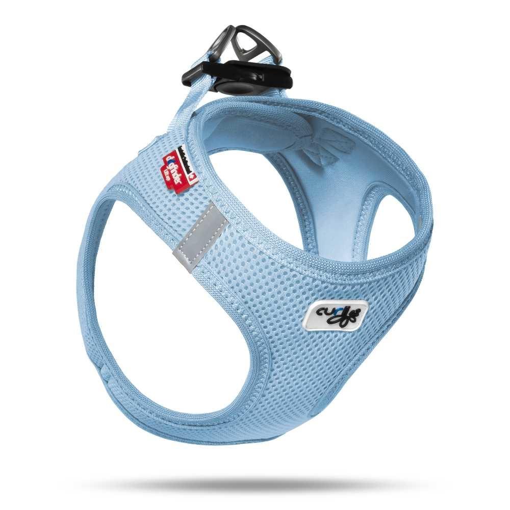 Hondentuig Air-Mesh Harness Light Blue
