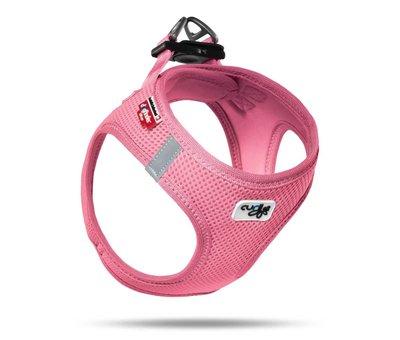 Curli Dog Harness Air Mesh Pink