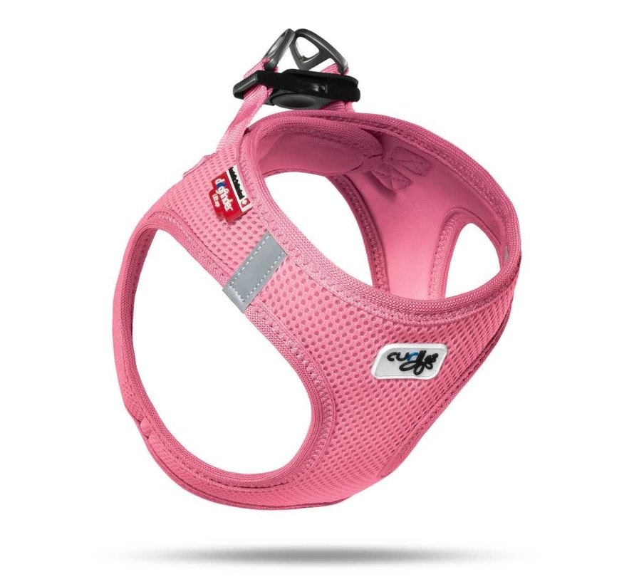 Dog Harness Air Mesh Pink