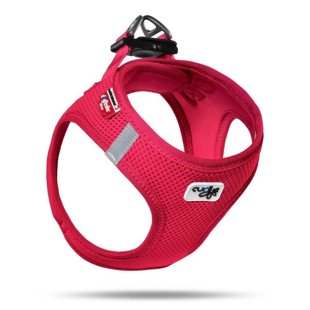 Hondentuig Air-Mesh Harness Red