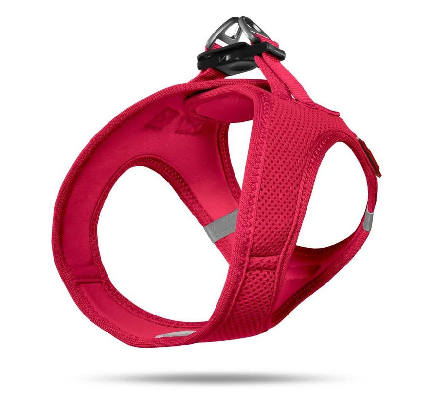 Hondentuig Air-Mesh Harness Red