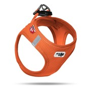 Curli Dog Harness Air Mesh Orange