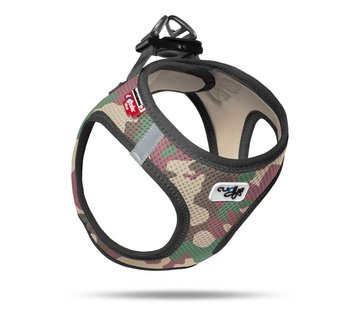 Curli Dog Harness Air Mesh Camouflage