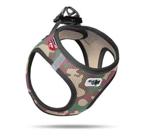 Curli Dog Harness Air Mesh Camouflage