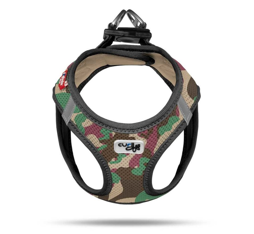 Dog Harness Air Mesh Camouflage