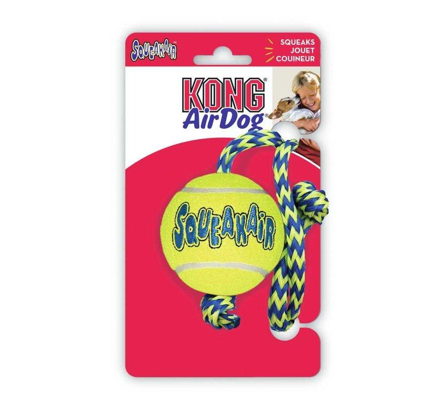 Hondenspeelgoed Squeakair Ball with Rope