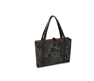 KONA CAVE Portable Dog Cushion Camouflage & Pink