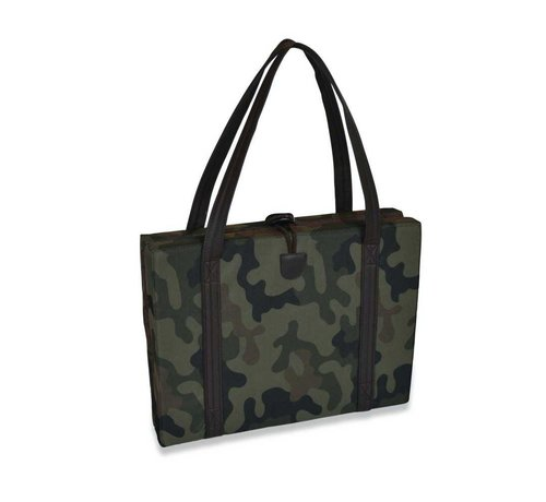 KONA CAVE Portable Dog Cushion Camouflage & Brown
