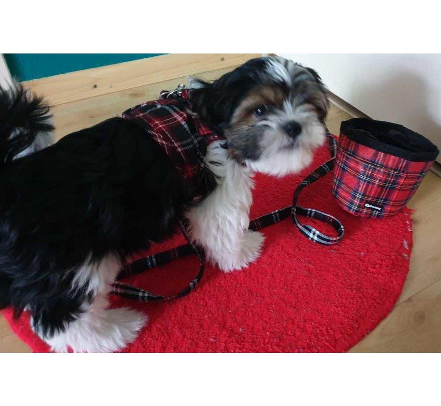Comfy Dog Harness Scottish Black