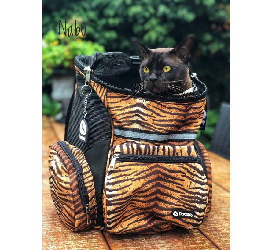 Dog Backpack Tiger