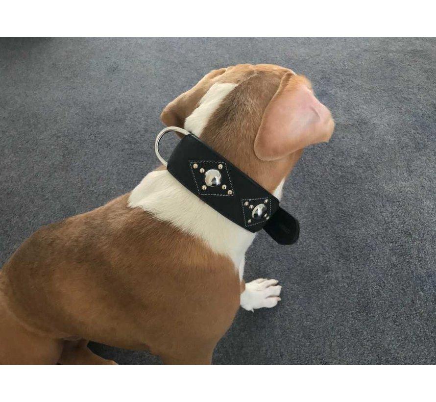 Dog Collar Ruff Chic Black