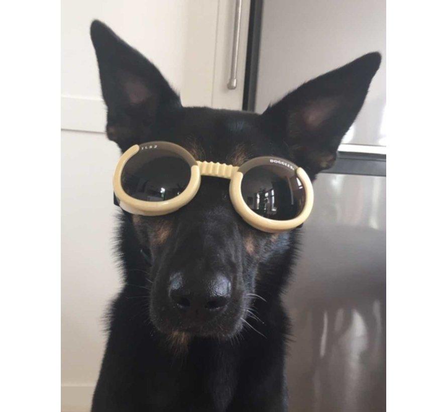 Hondenzonnebril Chrome
