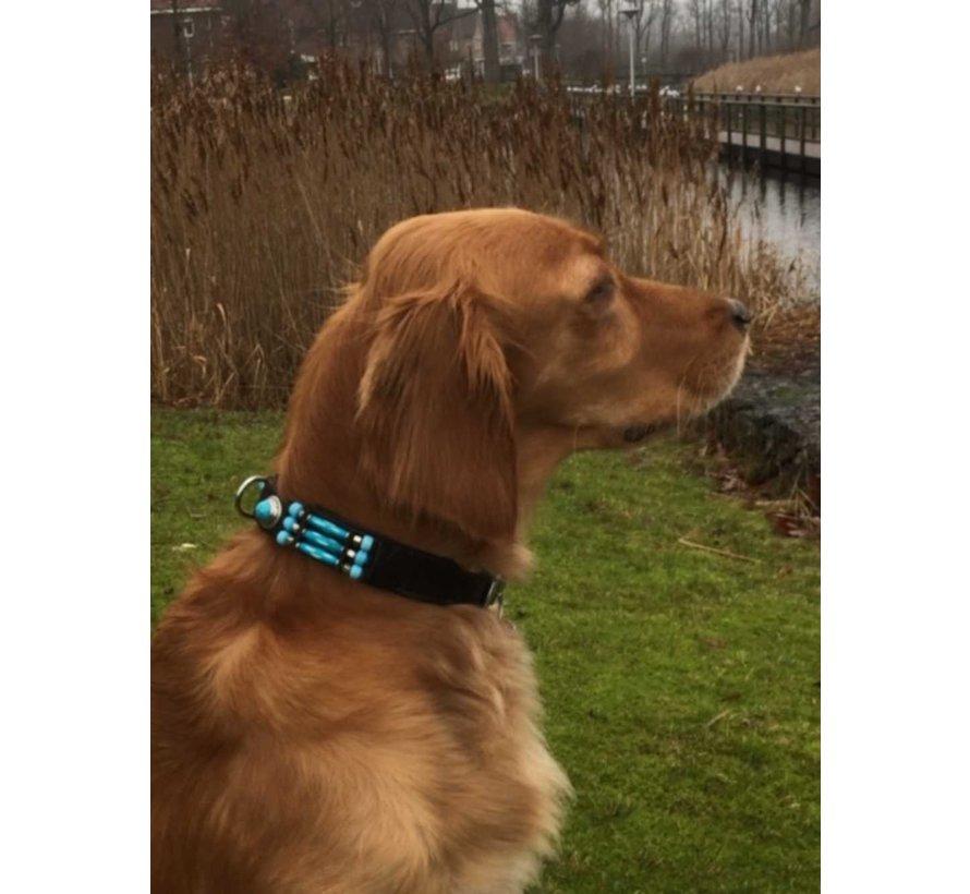 Hondenhalsband Blue River 25 mm