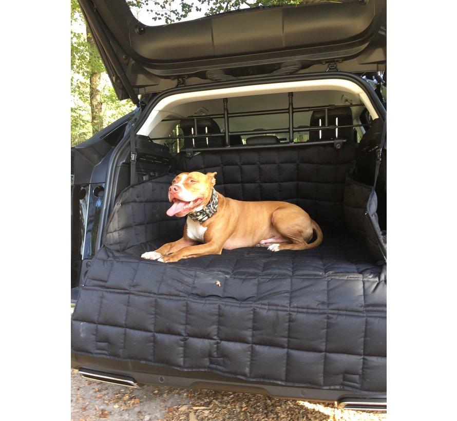 Hondendeken voor de kofferbak Zwart