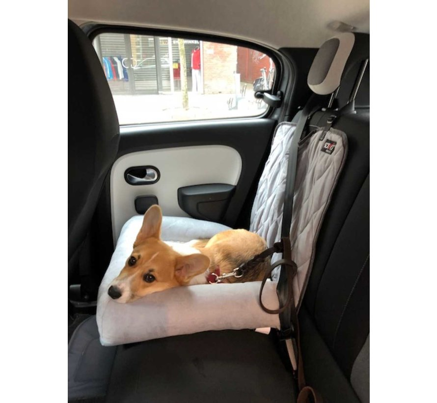 Honden Autostoel Car Cuddler Grijs