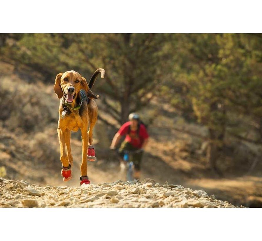 Dog Shoe Grip Trex Red