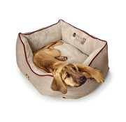 Hunter Dog Bed University Beige