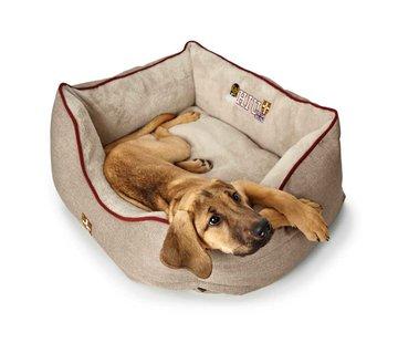 Hunter Dog Bed University Beige