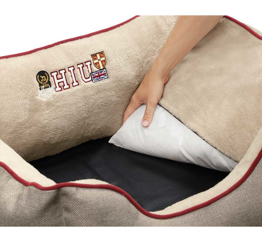 Dog Bed University Beige