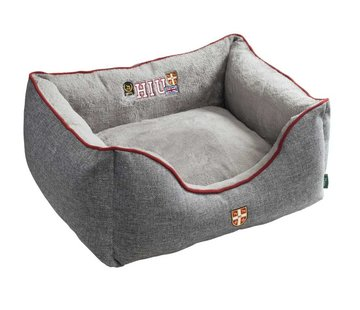 Hunter Dog Bed University Grey