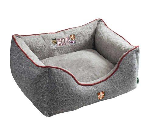 Hunter Dog Bed University Grey