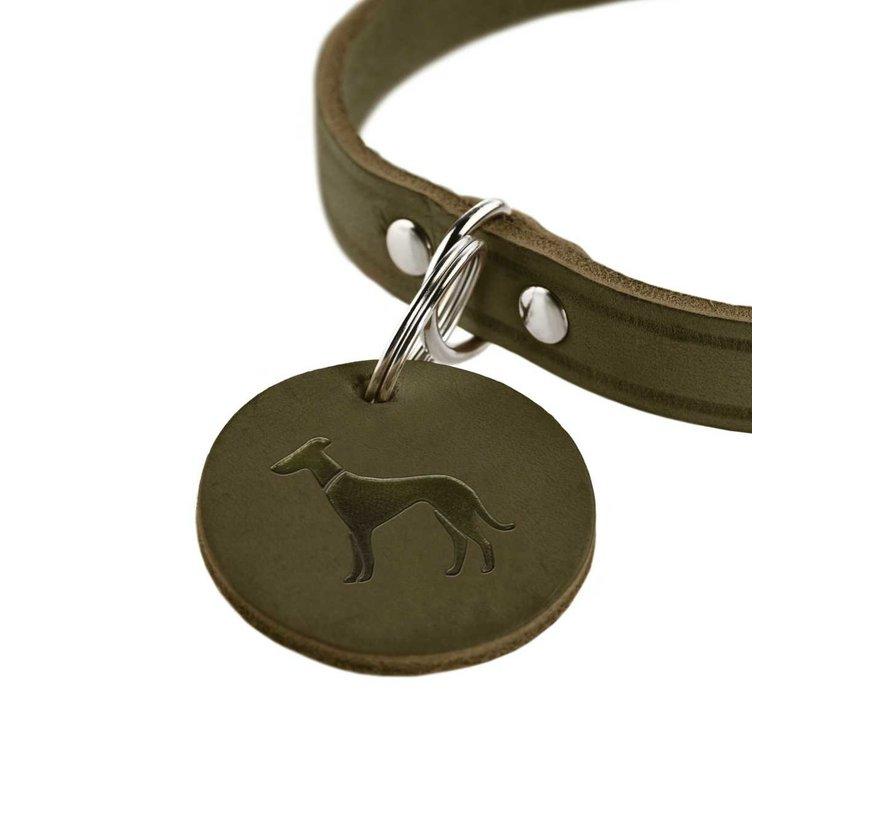 Dog Collar Aalborg Olive
