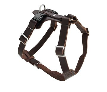 Hunter Dog Harness Aalborg Brown