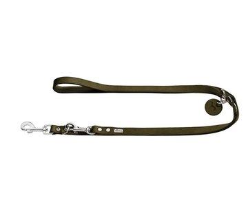 Hunter Adjustable Dog Leash Aalborg Olive