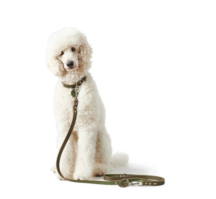 Adjustable Dog Leash Aalborg Olive