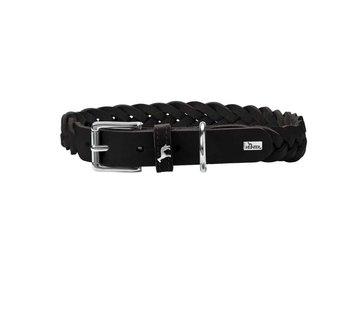 Hunter Dog Collar Solid Education Black