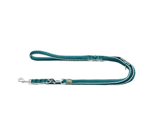 Hunter Verstelbare Hondenriem Hilo Turquoise