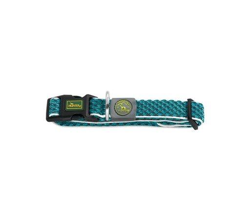 Hunter Dog Collar Hilo Vario Basic Turquoise