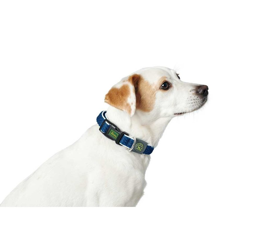 Dog Collar Hilo Vario Basic Blue