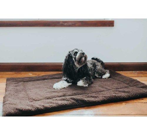 Hunter Dog Blanket Fluffy Brown