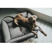 Hunter Dog Bed Prag Easy Clean Grey