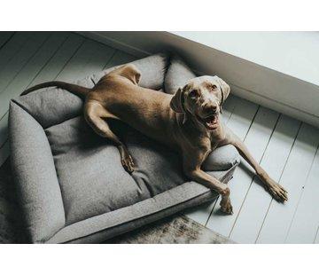 Hunter Hondenmand Prag Easy Clean Grijs