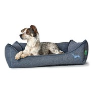 Hunter Dog Bed Prag Easy Clean Blue