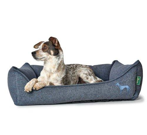 Hunter Dog Bed Prag Easy Clean Blue