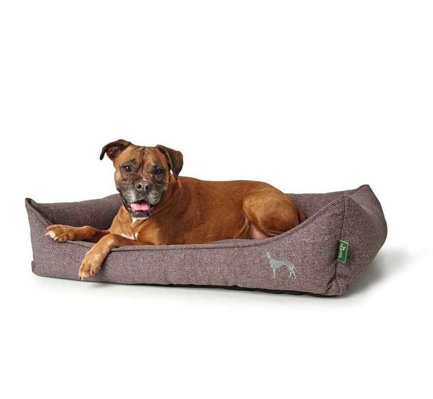 Dog Bed Prag Easy Clean Pink