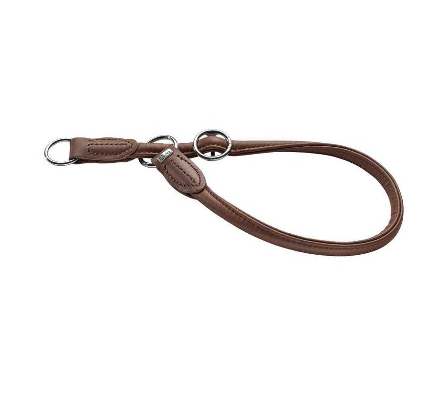 Slip Collar Round & Soft Brown