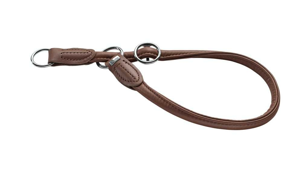 Training Halsband Hond Round & Soft Bruin
