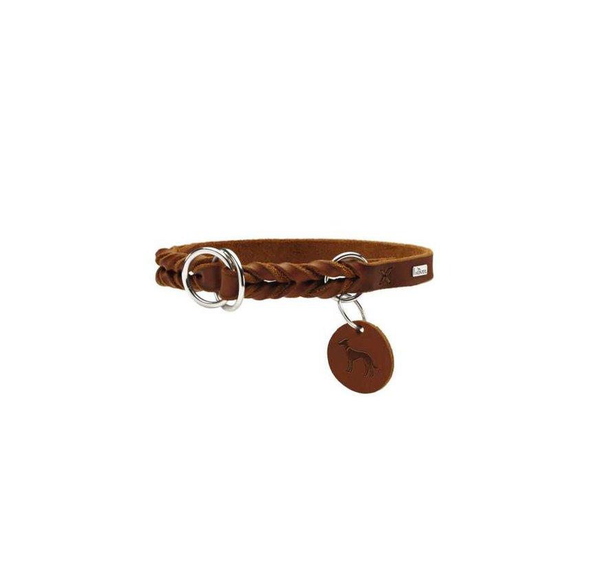 Slip Collar Solid Education Cognac