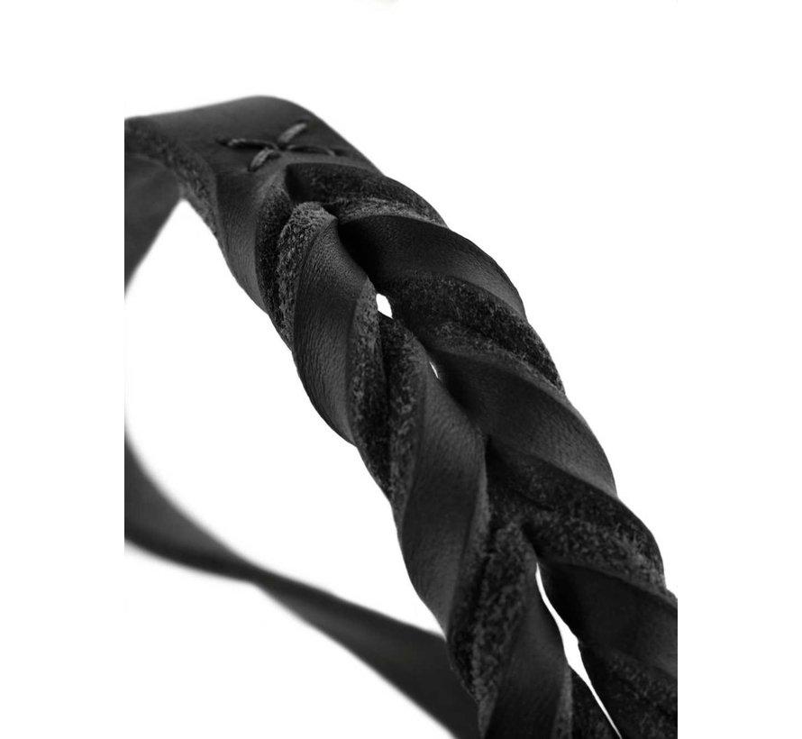 Slip Collar Solid Education Black