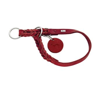 Hunter Training Halsband Hond Solid Education Rood