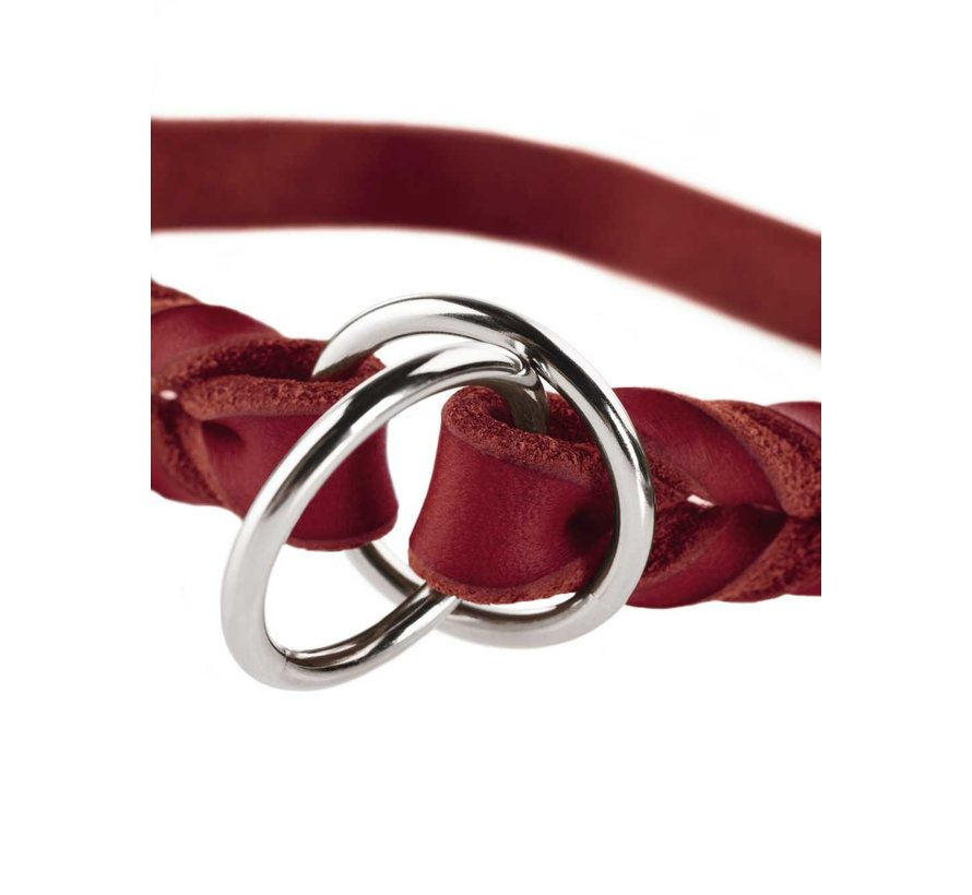 Slip Collar Solid Education Red