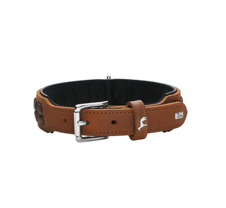 Dog Collar El Paso Cognac