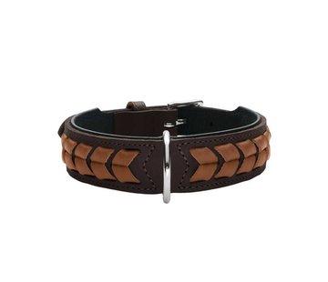 Hunter Dog Collar El Paso Brown