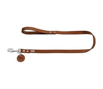 Hunter Dog Leash Cognac Leather